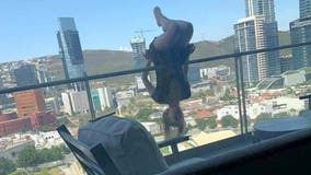 Woman who fell from balcony practicing 'extreme yoga' is recovering 'quickly': report