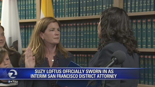 Suzy Loftus sworn in as interim San Francisco District Attorney
