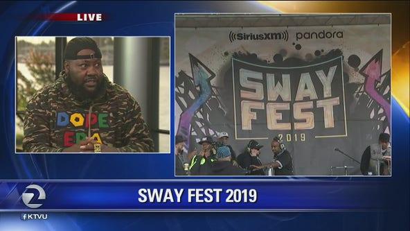 Mistah FAB promotes Sway Fest block party