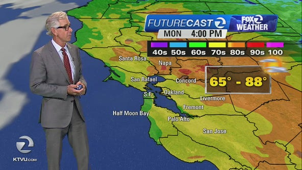 WEATHER FORECAST: Warm-up continues Monday