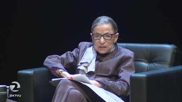 SCOTUS Justice Ruth Bader Ginsburg pays UC Berkeley a visit
