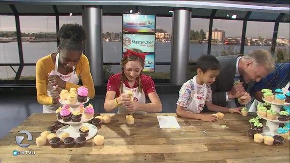 Masterchef Junior cooks make killer cupcakes