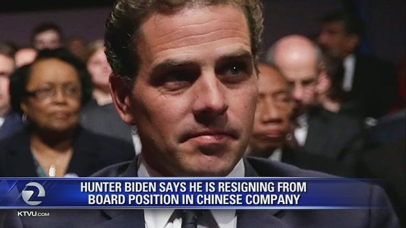 Hunter Biden to step down from Chinese board at end of the month