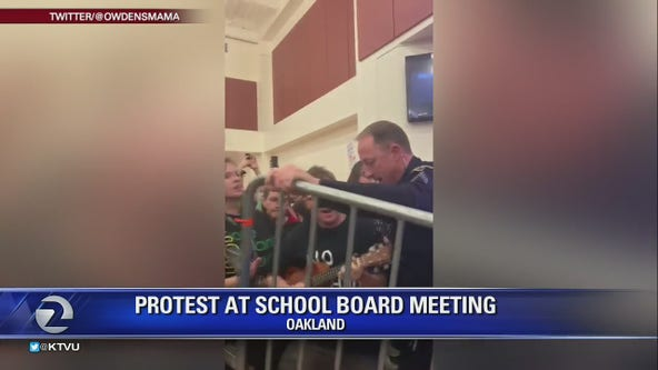Oakland Unified Schools may separate public from board meeting 2nd time this month