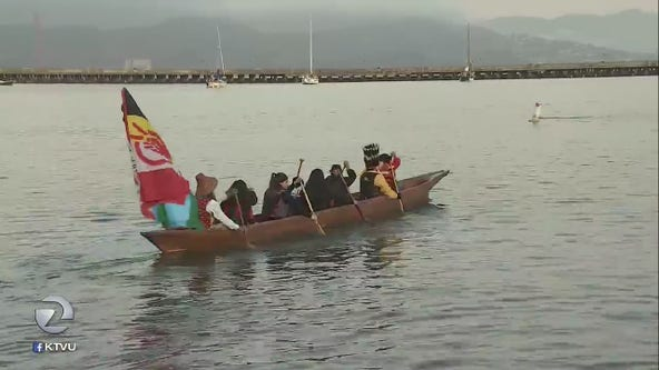 Indigenous Peoples Day celebration in San Francisco