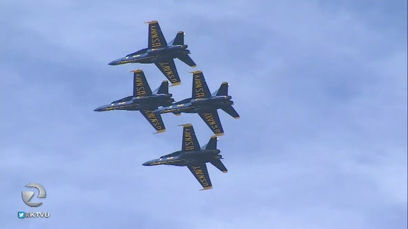 Blue Angels back in the Bay Area for Fleet Week