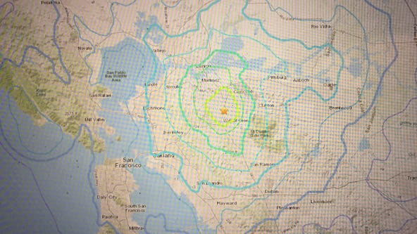 4.5 earthquake rattles the East Bay, felt around the Bay