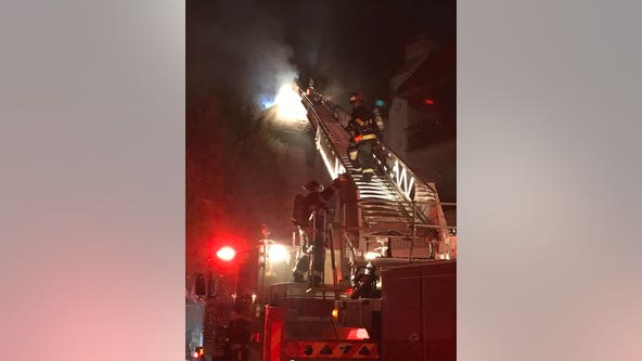 San Leandro apartment fire destroys one unit, damages 12 others