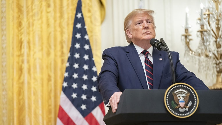 President Donald J. Trump participates in a joint press conference with Finnish President Sauli Niinistö Wednesday, Oct. 2, 2019, in the East Room of the White House. (Official White House Photo by Shealah Craighead)