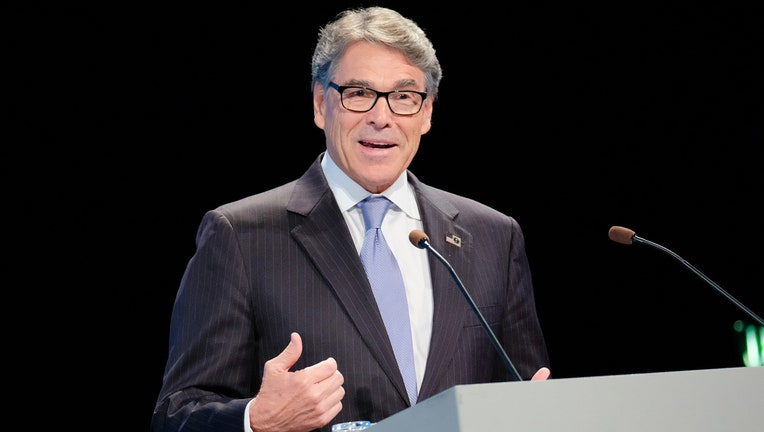 United States Secretary of Energy and former Governor of Texas Rick Perry attends the Arctic Circle Assembly at Harpa Concert Hall on October 10, 2019 in Reykjavik, Iceland.