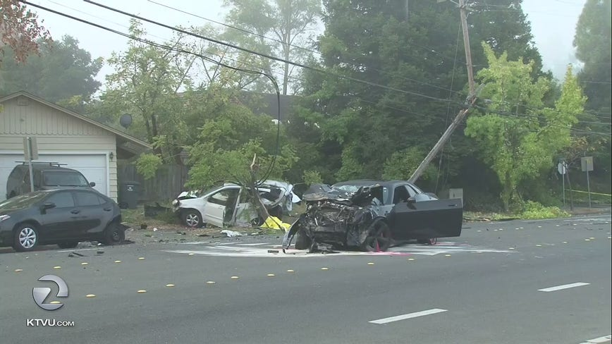 Alleged drunk driver slams into parked cars, kills homeless woman in Santa Rosa