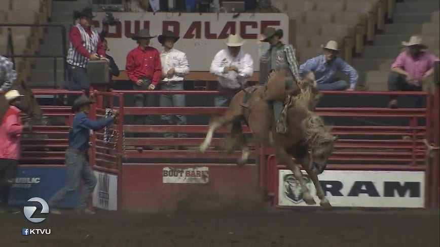 Grand National Rodeo at Daly City Cow Palace draws long-time fans, animal rights activists