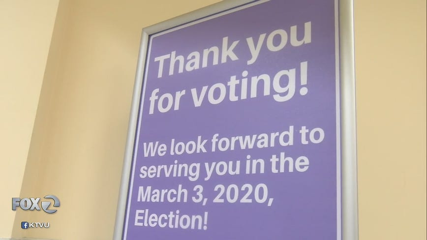 California independents can vote in Democrats' 2020 primary