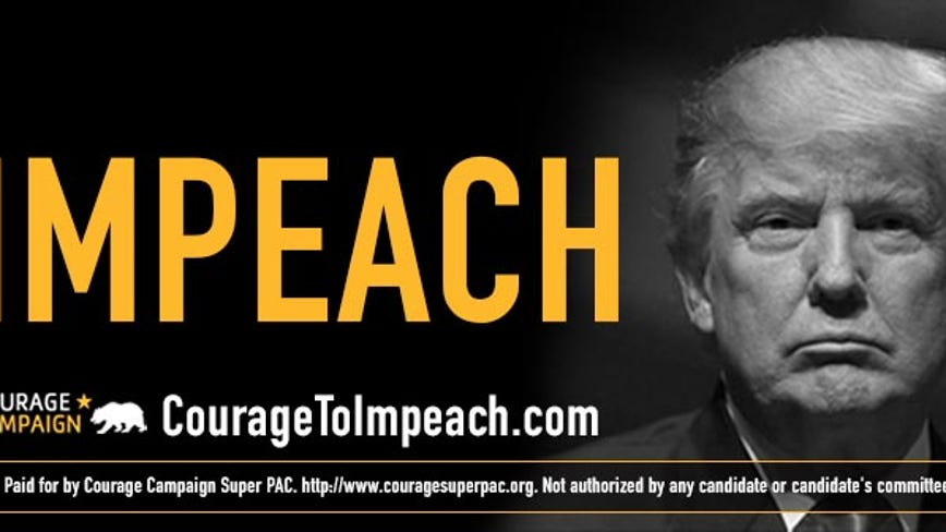 Progressives pay for 'impeach Donald Trump' billboard in San Francisco's Fisherman's Wharf