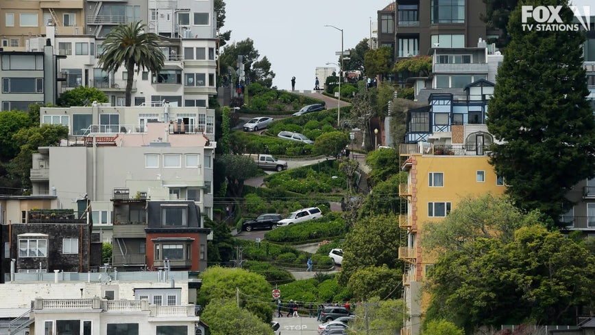 Gov. Newsom vetoes toll system for San Francisco's crooked Lombard street