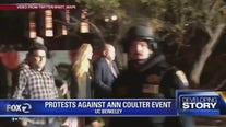 Hundreds protest Ann Coulter's UC Berkeley speaking engagement