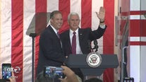 V.P. Pence tours NASA, speaks on future of space exploration