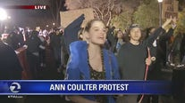 Protesters show up in force to counter Ann Coulter speaking engagement at UC Berkeley