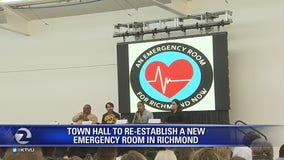 Town hall held to re-establish a new emergency room in Richmond
