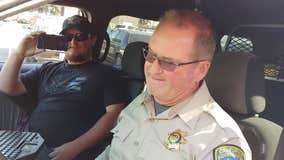 """San Jose CHP officer goes into retirement with emotional final """"off-duty"""" call"""