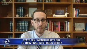 State Sen Wiener drafts bill to turn PG and E into public utility