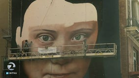 Mural of Greta Thunberg to be officially unveiled in San Francisco