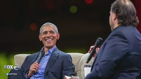 Obama touches on income inequality, inclusivity in keynote message at Dreamforce