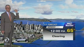 WEATHER FORECAST: Mild temps Monday morning, nice during the day