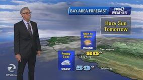 WEATHER FORECAST: Hazy, sunny conditions Friday.