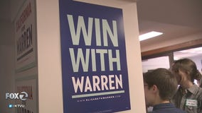 Elizabeth Warren opens presidential campaign office in Oakland