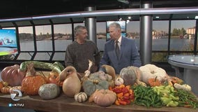 Produce expert Bob Borzone discusses winter produce with KTVU Meteorologist Steve Paulson on The Nine