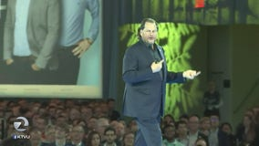 Protesters interrupt CEO's keynote address at Dreamforce conference