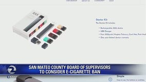 San Mateo County board of supervisors to consider E-Cigarette ban