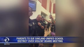 Parents plan to sue OUSD over violent board meeting