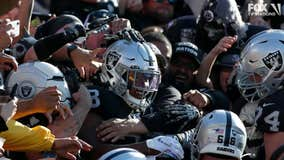 Raiders get late touchdown pass, defensive stop to beat Lions 31-24