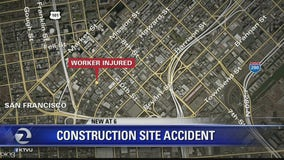 Construction worker seriously injured after 40-foot fall in San Francisco