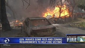 Gov. Newsom issues executive order to help wildfire areas recover quicker