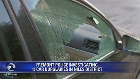 Fremont police investigating 15 car burglaries in Niles District