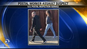 Suspect in USPS worker assault turns himself in