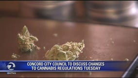 Concord city council to discuss changes to cannabis regulations on Tuesday