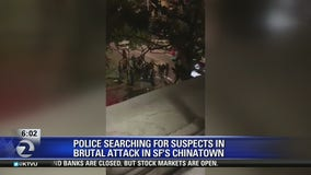 Police searching for suspects in brutal Chinatown attack