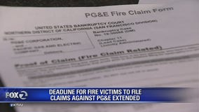 Deadline for North Bay fire victims to file claims against PG&E extended amid bankruptcy