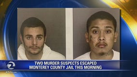 Inmates escape Monterey County Jail, Sheriff offers no further details