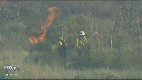 Crews making progress on 'Maria Fire' in Southern California