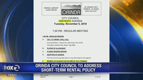 Orinda city council to address short-term rental policy