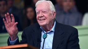 Jimmy Carter hospitalized for urinary tract infection