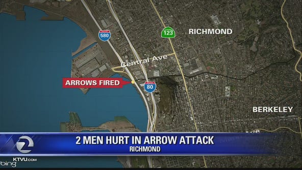 Two men hurt in arrow attack in Richmond
