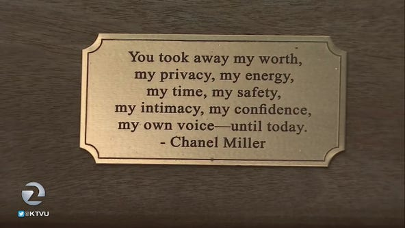Stanford approves plaque with quote by sexual-assault survivor Chanel Miller
