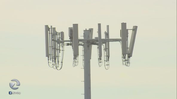 Cell phone towers go dark during shutoff