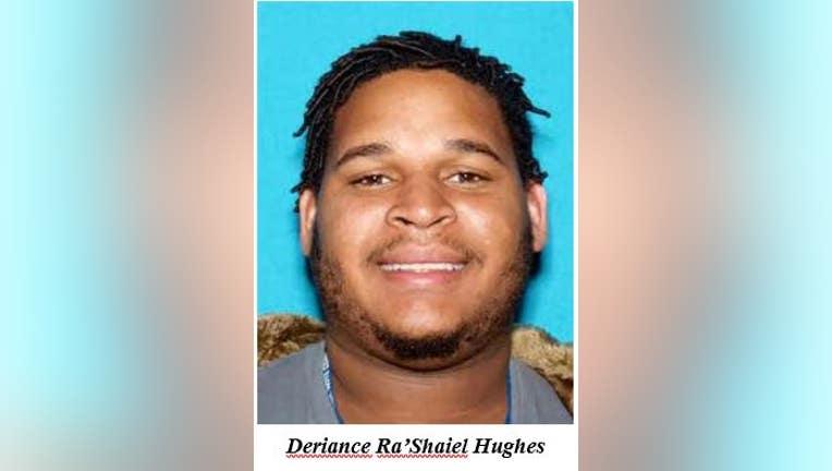 Deriance Ra'Shaiel Hughes (Columbia Tennessee Police Department)